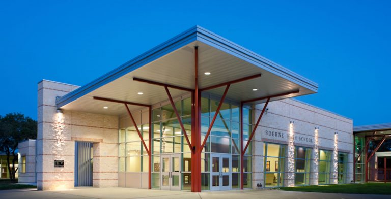 Boerne High School front building